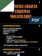 Clase 1 - 1) Inferencias Lógicas y Esquemas Moleculares (4 Horas)
