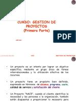 Gestion de Proyectos Primera Parte