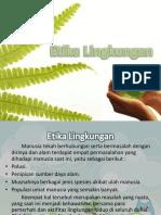 Etika Lingkungan Home