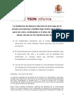 TSJN NdP Libertad La Manada