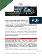 Nota de Informare Privind Protectia Datelor Personale Ale Angajatilor UA in Acord Cu GDPR RU01
