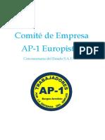 AP-1 Europistas, C.E.S.a.U. Informe-Dossier Parar Ministerio de Fomento