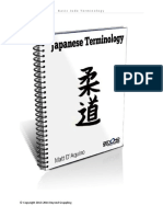 Judo - Basic Japanese Terms
