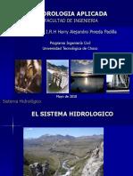 Curso Hidrologia Aplicada Introducción - SISTEMA HIDROLOGICO