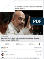 Screenshots of news websites which took down story on Amit Shah