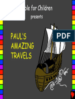 Pauls Amazing Travels English