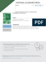 Exploring Partnership Governance in Global Health