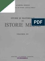 Studii Si Materiale de Istorie Medie 15 (1997)