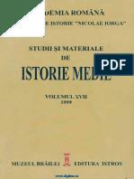 Studii Si Materiale de Istorie Medie 17 (1999)