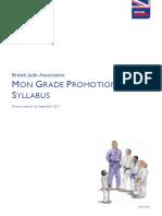Mon Grade Promotion Syllabus Sep 2017