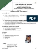 Practica 8-Corrientes Eléctricas y Campos Magnéticos