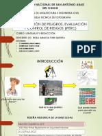 IDENTIFICACIÓN DE PELIGROS, EVALUACIÓN Y CONTROL DE.pptx
