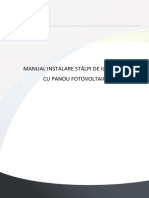 Manual Instalare Stalp Fotovoltaic