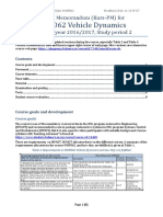 MMF062 VehicleDynamics Memorandum