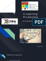 e-learning m-learning  1