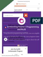 Understanding Reactive Programming and RxJS
