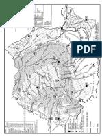 Harta Muta Relieful României