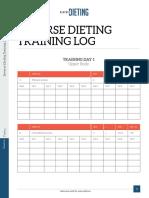 Training Log eBook