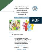 Historia Psicosocial - Grupo 2 - Subgrupo 2 - Psiquiatría