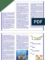 Triptico Carta Apostólica