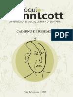 Caderno de Resumos Do I Colóquio Winnicott Da UEFS - Versão Digital