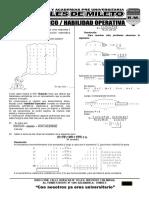 14 Raz. Matemático - Habilidad Operativa