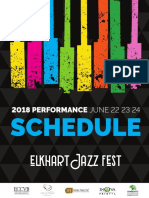 Elkhart Jazz Festival Schedule 2018 Updated