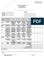 COE RUBRIC for Oral Defense