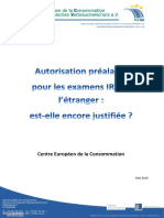 Rapport Irm 2015 Centre européen des consommateurs