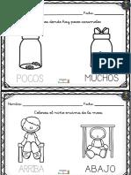 Cuadernillo Para Trabajar Conceptos en 3 Anos 6 10
