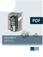 Siemens - g120 Cu250s-2 List Manual
