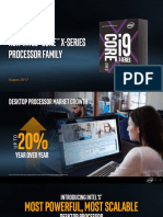 Intel Core x Series Processor Overview