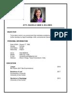Atty Resume