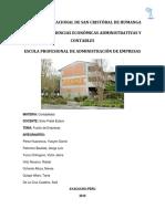 Topicos de Organización e Investigacion Contable