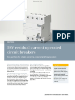 5SV Residual Current Operated Circuit Breakers 6870