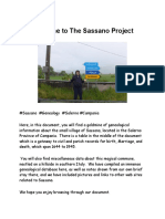 The Sassano Project