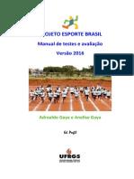 Manual Proesp Br 2016