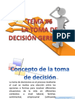 Toma Decisioens Gerencial