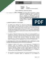 Demanda de inconstitucionalidad contra la Ley Nº 30793