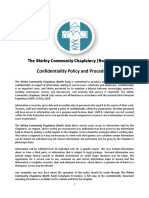 confidentiality policy revd june 2018