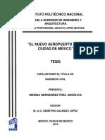 46el Nuevo Aeropuerto de La Ciudad de Mexico