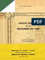 1972 B-001-Boletin-Aspectos Generales Metalogenia Peru-OCR - 1972pdf
