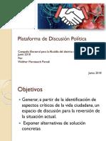 Plataforma de Discusión Política