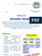Tema 12 Estudio Técnico