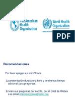 Webinar Higiene de Manos Programa de La OMS