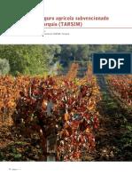 El Seguro Agricola Subvencionado en Turquia