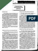 Analisis Institucional Conductas de Relacion Taller Gregal 80