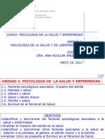 UNIDAD 2. PSICOLOGÍA DE LA SALUD Y LA ENFERMEDAD. CHICLAYO MAYO 19%2c 2017.pptx