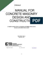 2016-10 TEK Index Masonry Design
