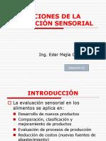 APLICACIONES DE LA EVALUACIÓN SENSORIAL.- Clase2(0).ppt
